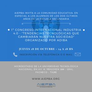Congreso tecnologica Adiba