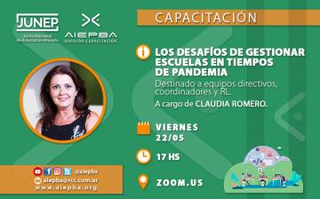 REDES Claudia Romero 22 mayo