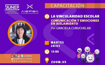 REDES Vincularidad escolar Curuchelar 26 mayo
