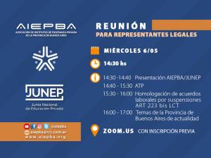 Reunion AIEPBA RLs 6 Mayo