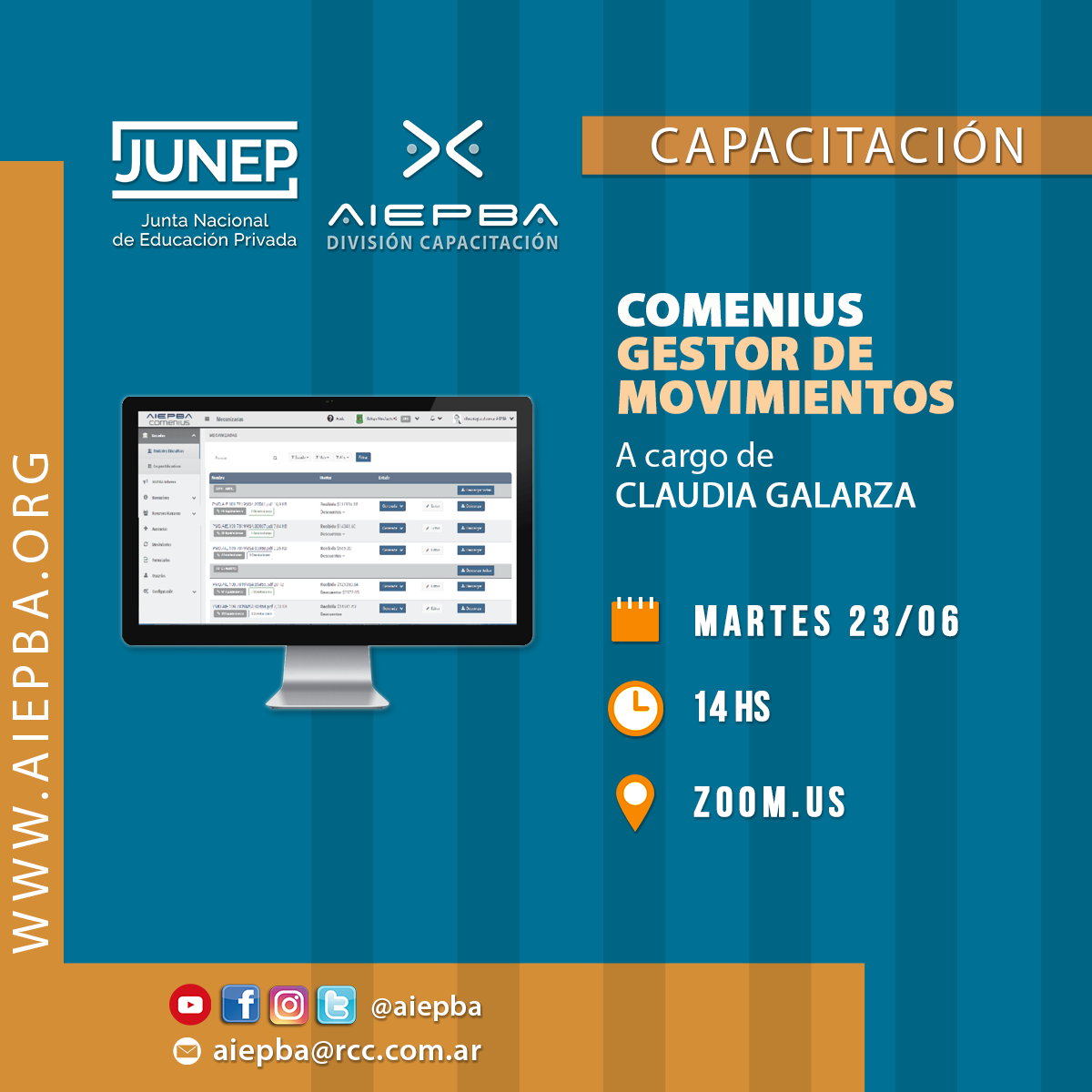 REDES Comenius 23 junio