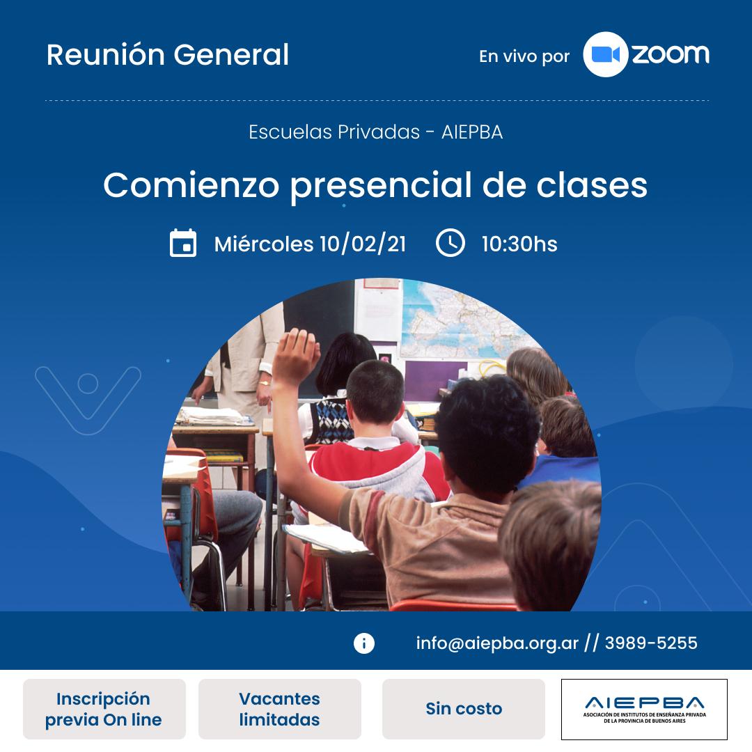 Reunion General 10 febr 2021