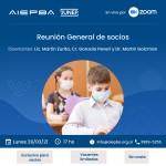 Reunión General de socios: Lunes 29 de marzo – 17 hs