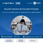 Nueva convocatoria: Reunión General de Escuelas Privadas AIEPBA – Lunes 05 de Abril – 17 hs
